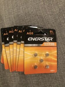 AG5 1.5 volt LR54/393 lot of 12