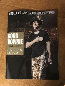 Maclean's Gord Downie - His life and legacy