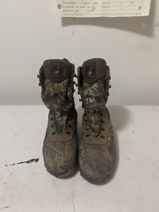 Camouflage winter boots size 9