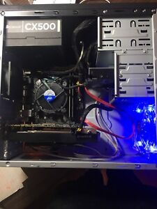 Gaming pc with windows activated and i5-7400