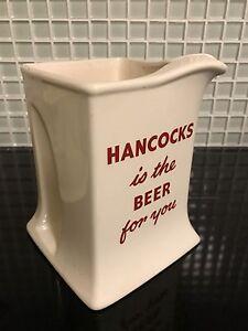 Hancock Beer Water Jug Waratah Newcastle Area Preview