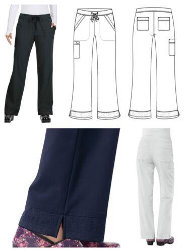 New koi 728 Regular Koi Mariposa Maria Drawstring Waist Scrub Pants 5 POCKETS