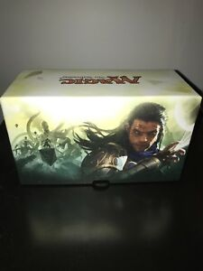 Magic the gathering collector box w deck boxes and life counter