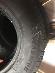 265/70/17 snow tires. Nearly new