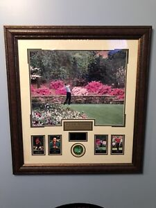 Tiger Woods large framed Augusta print