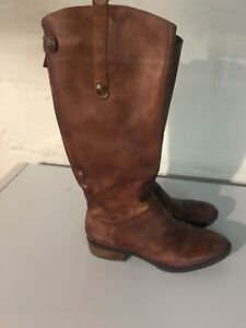 Sam Edelman vintage inspired knee high leather boots size 7-7.5