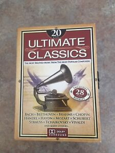 Ultimate classical music/20 CDs/Dolby /Bedford 9024884723