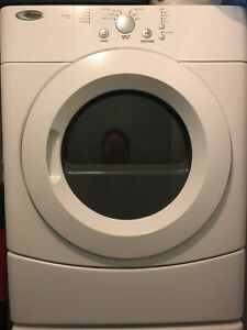 Amana 3.5 cu.ft stacking washer & dryer