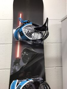 MINT LIMITED Star Wars edition BURTON Chipper snowboard 120cm