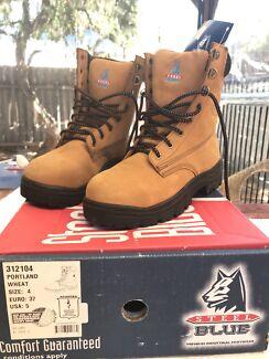 Steel Blue steel cap work boots