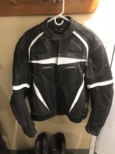 Fieldsheer Leather Motorcycle Jacket 50