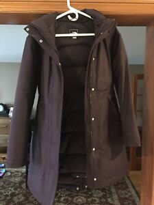 North Face EEUC Purple Down-Filled Jacket