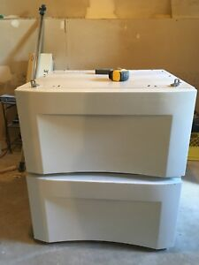 Pedestal for washer and dryer