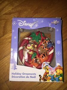 Tigger, Winnie the Pooh and Eeyore Christmas Ornaments
