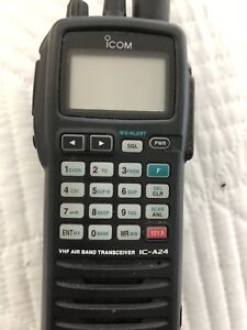 ICOM IC-A24 Nav-Com Aviation Receiver