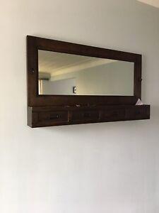 Front entrance mirror