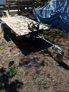 Motorcycle or quad trailer