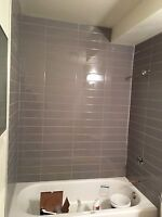 Re tile shower