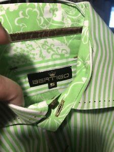 Men's Dress Shirts,  Bertigo, size Large (4)