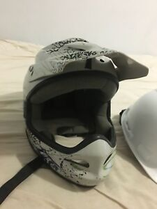 BMX bike racing helmet