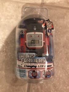 Transformers optimus prime transformable watch g1