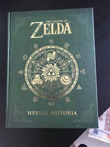 LEGEND OF ZELDA HYRULE HISTORIA COLLECTORS BOOK