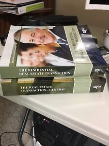 The real estate transaction general & residential. textbooks
