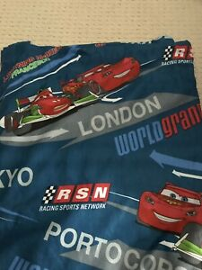 Boys Curtains Cars 2 bedroom window size 2 panel