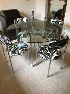 1960's Table and Chairs