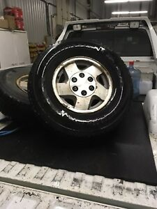 Chevy/gmc 6 bolt rims with 265 75 r16