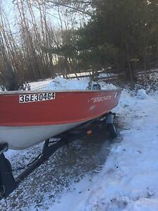 Starcraft boat, motor and trailer need gone.