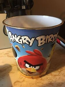 Angry Birds garbage can