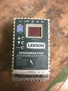 Drive leeson speedmaster moteur 1/2 220v