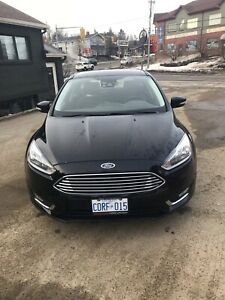 2017 Ford Focus Titanium with summer and winter tires