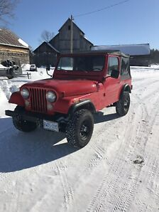 Restored 1983 Jeep Cj-7