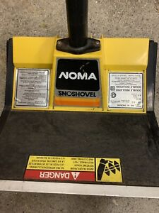 NOMA electric Snow Thrower LIKE NEW