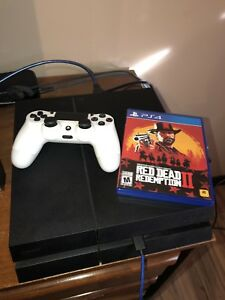 PS4 + One Controller + Red Dead Redemption 2