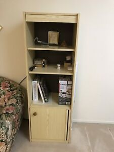 Bookcases with shelves