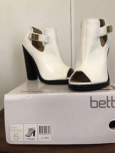 Brand new Betts peep toe heels AU 5 Craigie Joondalup Area Preview