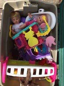 Children's toys - girl.