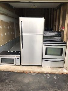 "Excellent working 30""w Fridge/Stove can DELIVER"