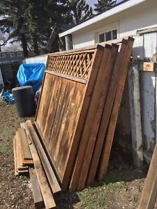 Fence panels and posts