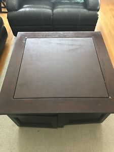Expresso Brown coffee table