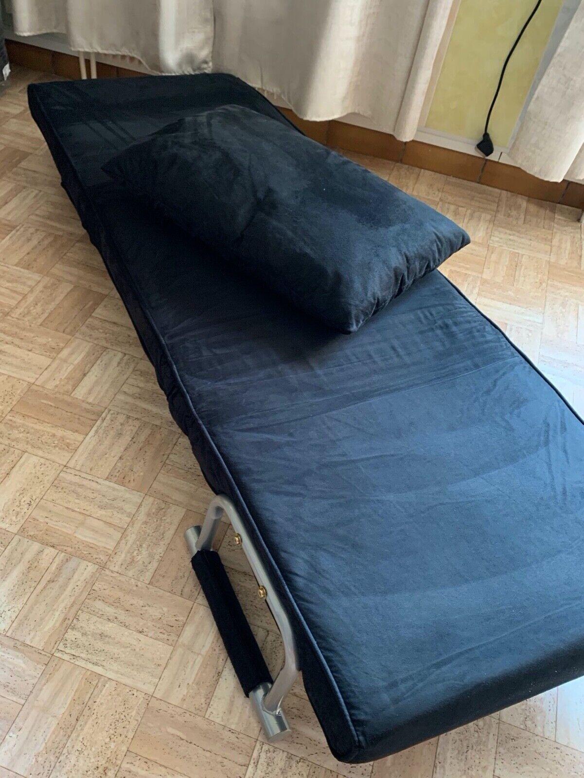 Canapé-lit 1 place en métal / 65x69x82 cm occasion