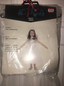 Girl's Angel Costume Size 4T