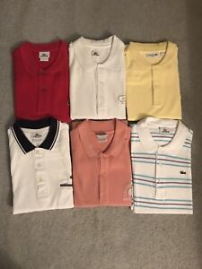 Lacoste Polos Brand New No Tags Sizes 7 and 8