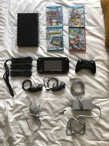 Nintendo Wii U + Games + Extra Controllers