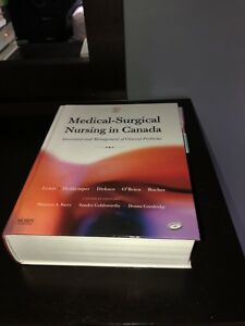 Medical-Surgical Nursing in Canada text book