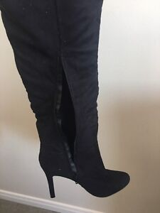 Women's size 11 over the knee boots