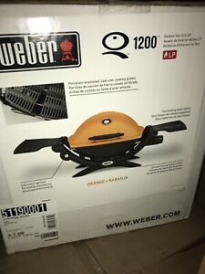 Weber Bbq portable 1200 orange new in box